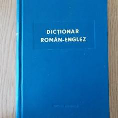 DICTIONAR ROMAN-ENGLEZ- LEVITCHI, cartonata, 1965 - Curs Limba Engleza Altele