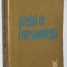 Dumitru G. Kiriac - Pagini de corespondenta - Roman