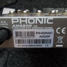 Mixer de sunet - Mixer audio Phonic