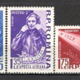Romania.1961 Vostok 2 XR.252 - Timbre Romania, Nestampilat