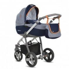 Carucior 3 In 1 Copii 0-3 Ani Mommy Blue-Grey - Carucior copii 3 in 1 MyKids
