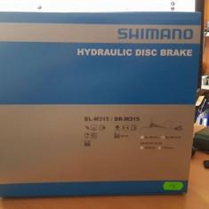 Set frane Hidraulice Shimano model nou - Piesa bicicleta
