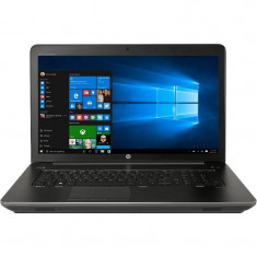Laptop HP ZBook 17 G4 17.3 inch Full HD Intel Core i7-7820HQ 16GB DDR4 256GB SSD nVidia Quadro P3000 6GB FPR Windows 10 Pro