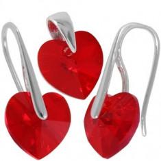 Heart p 10/10 SlimWire - Set bijuterii placate cu aur
