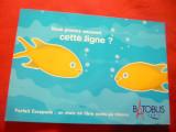 Ilustrata Reclama pt. Batobus- Linie de vaporase turistice in Paris