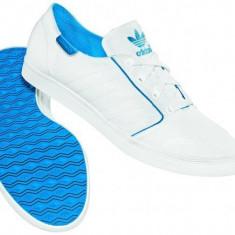 Adidas Mens Plimsole Summer White AHG12487 - Adidasi barbati, Marime: 44