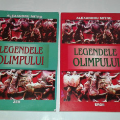ALEXANDRU MITRU - LEGENDELE OLIMPULUI Vol.1.2. - Carte mitologie