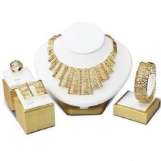 Set bijuterii placat cu aur