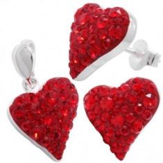 Bijuterii Chaton Sweet Heart 13/13 so s - Set bijuterii placate cu aur
