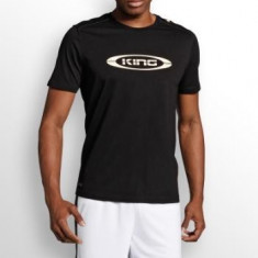 Tricou Puma King Logo oferta Negru - Tricou barbati Puma, Marime: S, M, L, XL, XXL