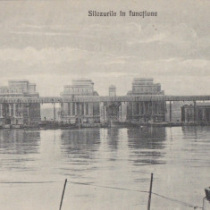 CARTE POSTALA CONSTANTA Silozurile in functiune - Carte Postala Dobrogea 1904-1918, Necirculata, Printata