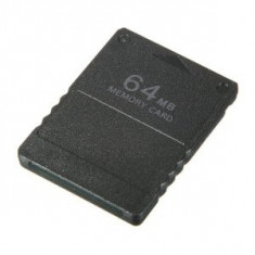 Memory Card 64Mb Black Ps2 - Consola PlayStation