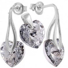 Bijuterii Heart p 10/10 PittPin - Set bijuterii placate cu aur