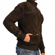 Geaca de PIELE Tom Tailor - Geaca barbati Tom Tailor, Marime: XL, Maro