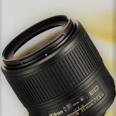 Nikon AF-S DX NIKKOR 35mm f/1.8G - Obiectiv DSLR