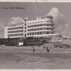 CARTE POSTALA EFORIE Hotel Belona - Carte Postala Dobrogea dupa 1918, Circulata, Printata