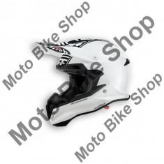 MBS Casca motocross Airoh Terminator 2.1 Com White, alb, M=57-58, Cod Produs: T2C38MAU