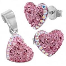Chaton Heart fb 10/10 gl s - Set bijuterii placate cu aur