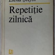 ELENA STEFOI-REPETITIE ZILNICA:VERSURI1986/dedicatie-autograf pt VALERIU PANTAZI - Carte poezie