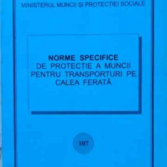 Norme Specifice De Protectie A Muncii Pentru Transporturi Pe - Necunoscut, 401898