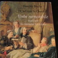 DE LA CEZAR LA CHURCHILL-FRANCOIS BLUCHE-317 PG- - Carte Proverbe si maxime