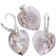 Inimioare Heart p 18/18 Lvbck - Set bijuterii placate cu aur