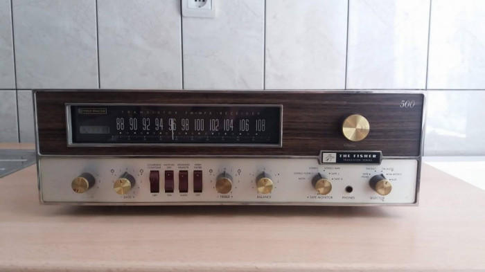 Amplificator / receiver The Fisher 500 Made in SUA