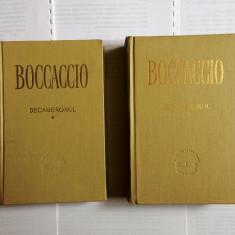 Decameronul de giovanni boccaccio in doua volume cartonate