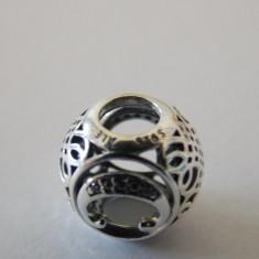 Talisman Pandora autentic 791847CZ Litera C - Pandantiv argint