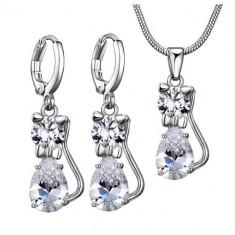 Set bijuterii pisica