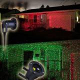 Laser Garden, proiector lumini colorate cu sezor de lumina