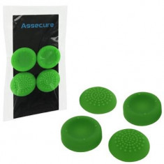 Silicone Thumb Grips Concave And Convex Green Ps4 - Consola PlayStation