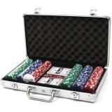 Set Poker la servieta 300 Jetoane