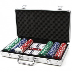 Set Poker la servieta 300 Jetoane