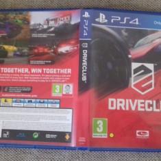 DRIVECLUB - PS4 - Jocuri PS4, Curse auto-moto, 3+, Single player
