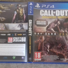 Call of duty - Advcned Warfare - PS4 - Jocuri PS4, Shooting, 3+, Multiplayer