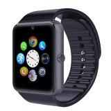 "Ceas Smartwatch cu Telefon IMK, Model 2016, Camera 2.00 Mpx, Apelare BT, LCD Capacitiv 1.54"" Antizgarieturi, Slot Card, Negru SW018 - Ceas barbatesc"