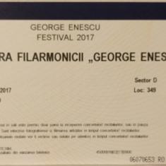 Bilet festival Enescu: Muzica secolului XXI, 9 septembrie, ora 13, Sala Radio - Bilet concert