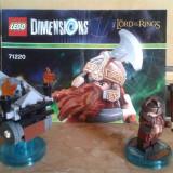 Lego Dimension Fun Pack 71220 - figurina Gimli din Lord of the Rings