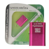 Cititor card MicroSD Siyoteam T97 Roz Blister