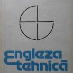 Engleza Tehnica - V. Danila, 401879 - Carte in engleza