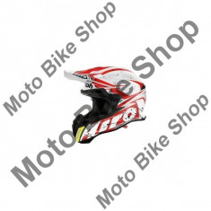 MBS Casca motocross Airoh Terminator 2.1 Splash Red, rosu, S=55-56, Cod Produs: T2SP55SAU