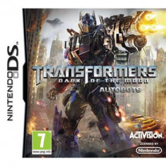 Transformers Dark Of The Moon Autobots Nintendo Ds - Jocuri Nintendo DS Activision