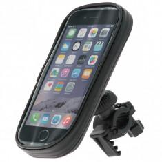 Suport telefon pentru bicicleta Pulse Pro L size 70x140mm, fixare ghidon, rezistent la apa - Suport telefon bicicleta