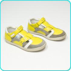 DE FIRMA → Pantofi din piele, comozi, practici, aerisiti CHICCO → baieti | nr 34 - Pantofi copii Chico S, Culoare: Din imagine, Piele naturala