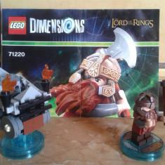 Lego Dimension Fun Pack 71220 - figurina Gimli din Lord of the Rings - LEGO Lord of the Rings