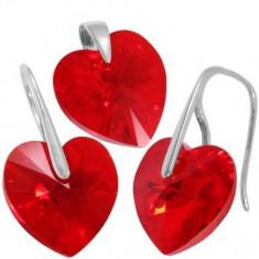Heart p 14/14 Wire - Set bijuterii placate cu aur