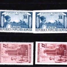 Romania 1950 Expozitia tehnica agricola si industriala L.p 276 mnh - Timbre Romania, An: 1952, Transporturi, Nestampilat