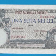 100000 lei 1947 8 Mai 1 aUNC - Bancnota romaneasca