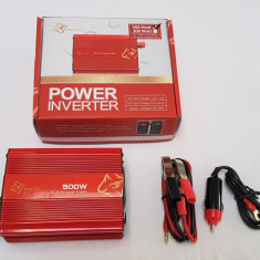 Invertor convertor 12v la 220V 500w 500 w USB - Invertor Auto